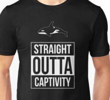 Orcas -- Straight Outta Captivity Unisex T-Shirt