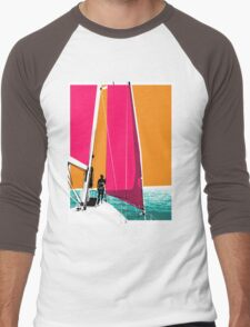 Sail Men's Baseball ¾ T-Shirt