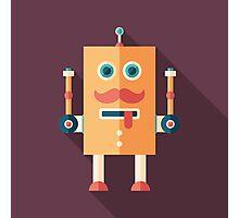 Funny Robot Photographic Print