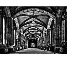 University of Toronto Knox College Cloister No 1 Photographic Print