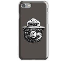 Smokey The Bear iPhone Case/Skin