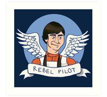 Wedge Antilles: Rebel Pilot Art Print