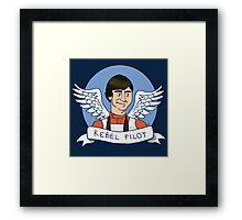 Wedge Antilles: Rebel Pilot Framed Print