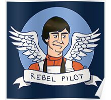 Wedge Antilles: Rebel Pilot Poster