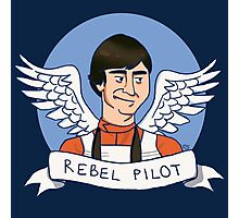 Wedge Antilles: Rebel Pilot Photographic Print