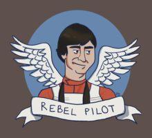 Wedge Antilles: Rebel Pilot Baby Tee