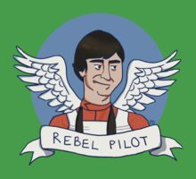 Wedge Antilles: Rebel Pilot One Piece - Short Sleeve