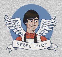 Wedge Antilles: Rebel Pilot One Piece - Short Sleeve