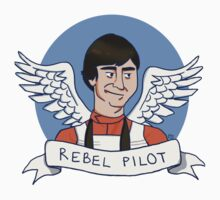 Wedge Antilles: Rebel Pilot Kids Tee