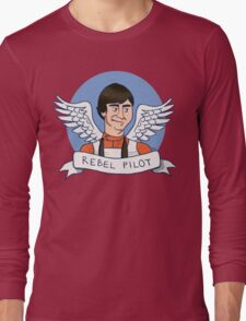 Wedge Antilles: Rebel Pilot Long Sleeve T-Shirt