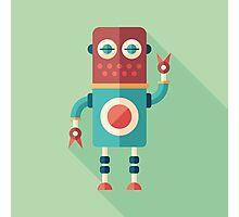 Robot Tailor Photographic Print