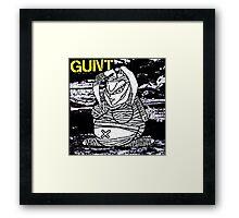 GUNT - Pop Star Murder Project Framed Print