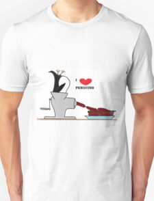 i love penguins Unisex T-Shirt