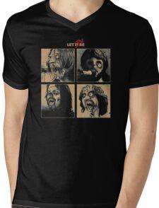 Let it (Zom)Be Mens V-Neck T-Shirt