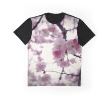 Japanese Cherry Blossom Graphic T-Shirt