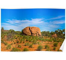 Outback Boulders Poster