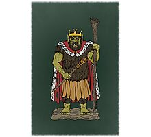 King Troll Photographic Print