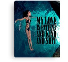 My Love Canvas Print