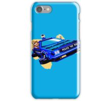 Back to the Future/ Doctor Who DeLorean Tardis Mashup iPhone Case/Skin