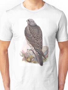 Falco islandus. Iceland Falcon. Unisex T-Shirt