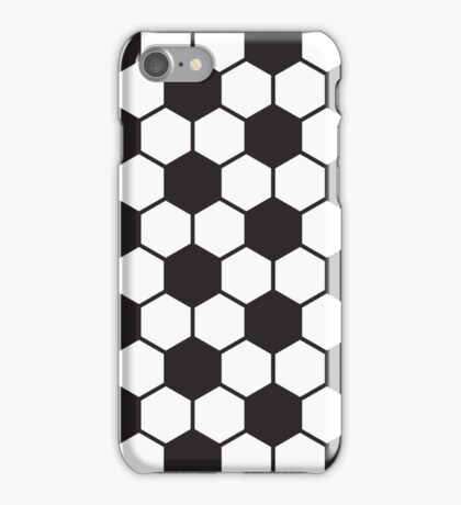 soccer ball pattern iPhone Case/Skin
