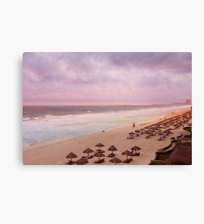 In the Pink In Mexico Canvas Print