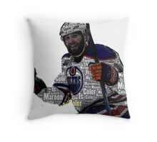 "Edmonton Oilers ""My Favorite Color is (Patrick) Maroon"" Throw Pillow"