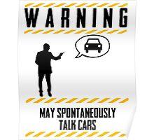Mechanics Warning Poster
