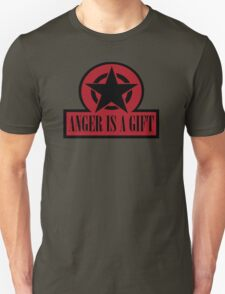 ANGER IS A GIFT Unisex T-Shirt