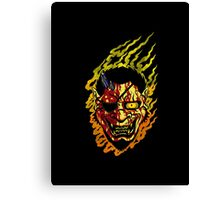 Oni Boss Canvas Print