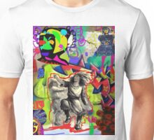 Wall Graffiti Collage #1 Unisex T-Shirt