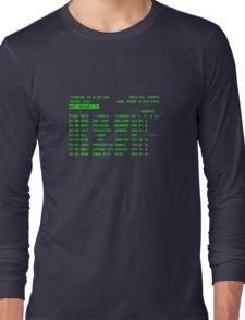 Bueller... Long Sleeve T-Shirt
