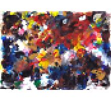 Abstract Pixel Pattern Photographic Print
