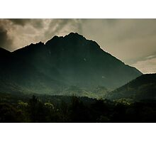 Dark Mountain Photographic Print