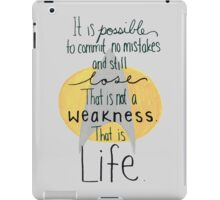 This is Life. (Gray) iPad Case/Skin