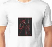 Red Room Ruby Shoes  Unisex T-Shirt
