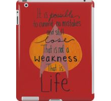 That is life. (Red) iPad Case/Skin