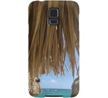 Dominican republic beach scene Samsung Galaxy Case/Skin