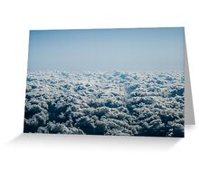 Cauliflower Clouds Greeting Card