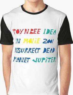 Toynbee Idea Tiles Mysterious Planet Jupiter Resurrect Dead Graphic T-Shirt