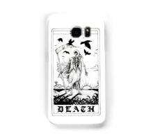 Death Tarot Card - Ink Drawing Samsung Galaxy Case/Skin