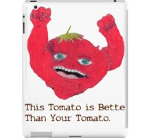 Tomato Overlord. iPad Case/Skin