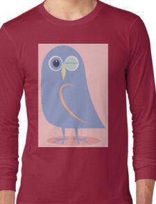 WINKING BLINKING OWL Long Sleeve T-Shirt
