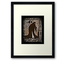 How Queen Guinevere  Made Her a Nun Framed Print