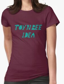 Toynbee Idea In Movie 2001 Resurrect Dead on Planet Jupiter Womens Fitted T-Shirt