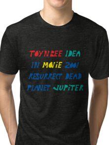 Toynbee Idea Tiles Mysterious Planet Jupiter Resurrect Dead Tri-blend T-Shirt