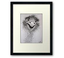 """Crikey!"" Framed Print"