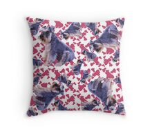 Schnauzers Throw Pillow