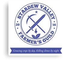 Stardew Valley Farmer's Guild Redux Canvas Print