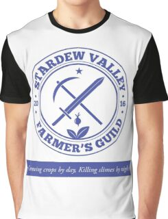 Stardew Valley Farmer's Guild Redux Graphic T-Shirt